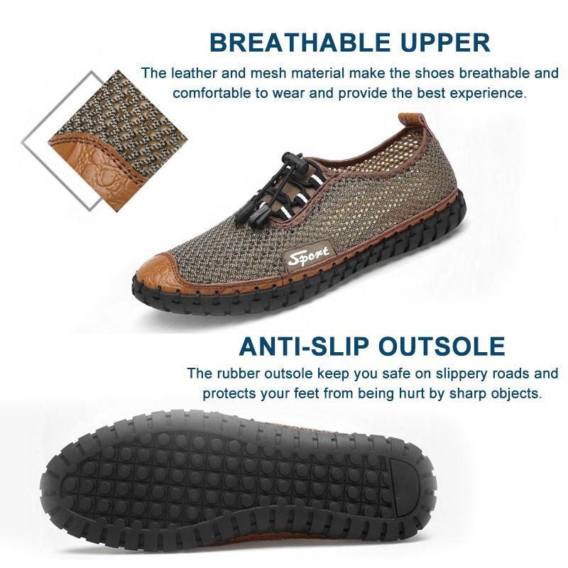 Men Trendy Summer Breathable Shoes