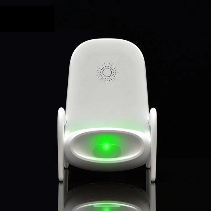 Multi-function Chair Shape Loudspeaker & Wireless Fast Charging