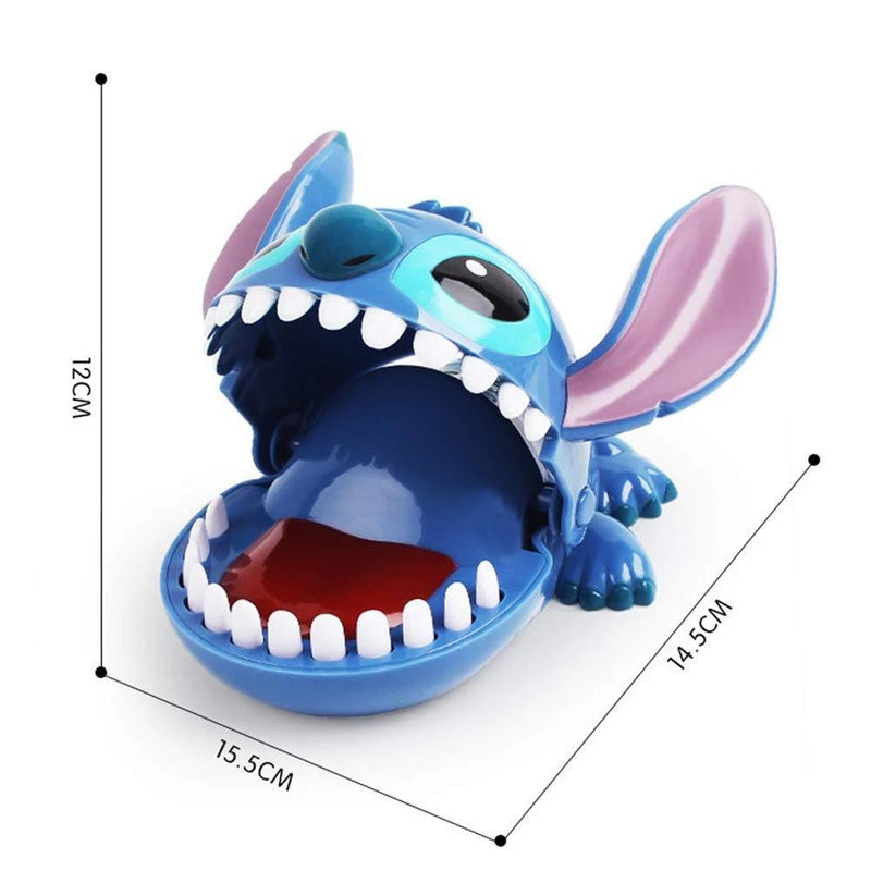 Cartoon Stitch Biting Finger Toys Mouth Bite Creative Spoof Toys for Party Family Games