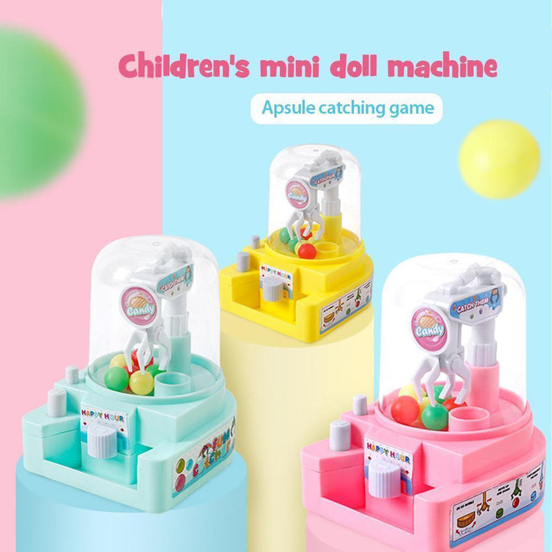 Children Mini Simulation Catching Ball Machine