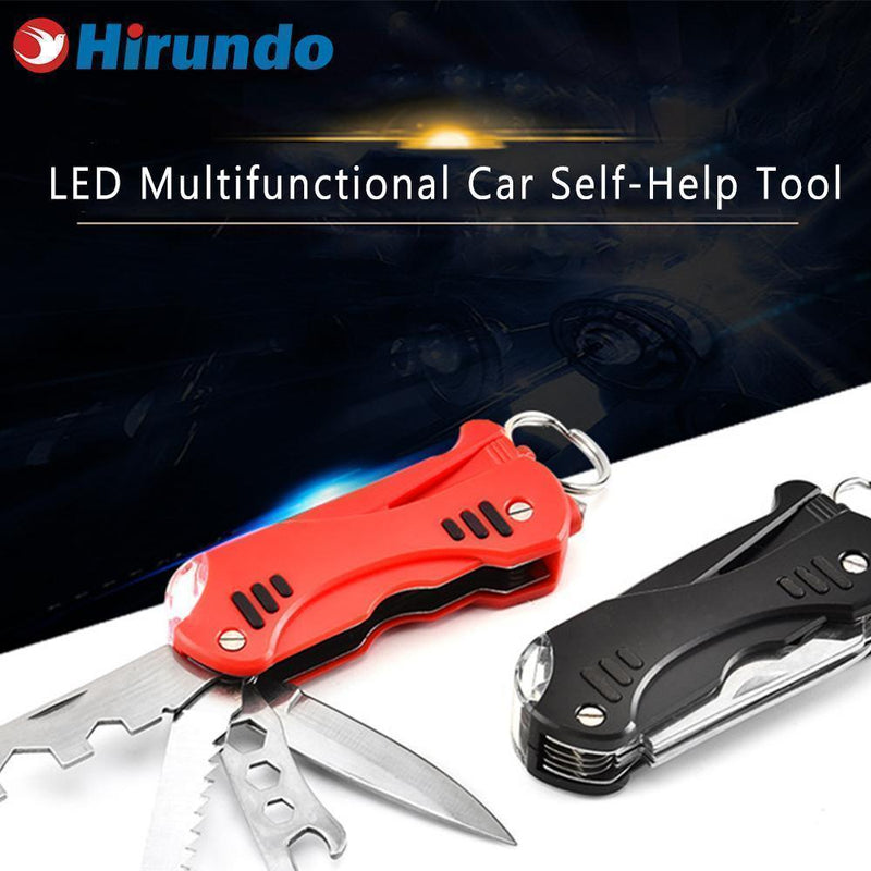 Hirundo 12-in-1 Multifunctional Self-Help Tool