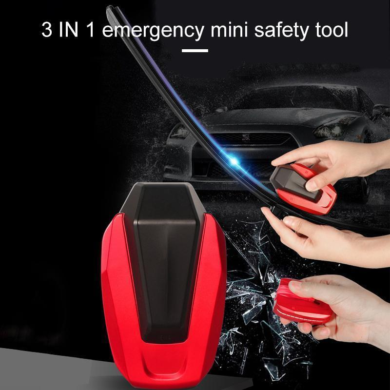 3 in 1 emergency mini safety tool