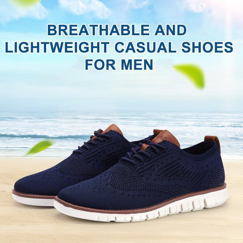 Air Mesh Breathable Casual Shoes For Men