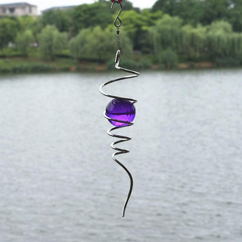 Pre-sale>>Wind Spinner Ball Spiral Tail