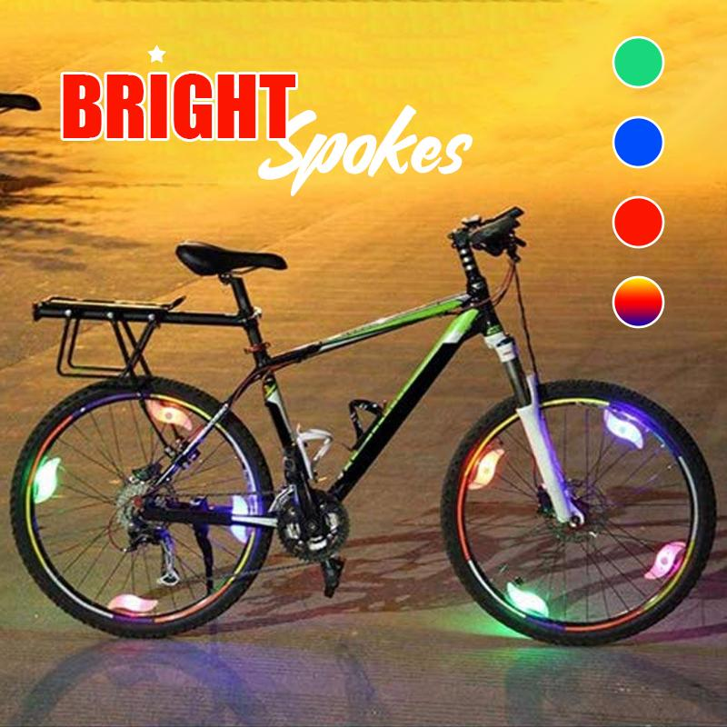 Bicycle Lights for Wheels Decoration