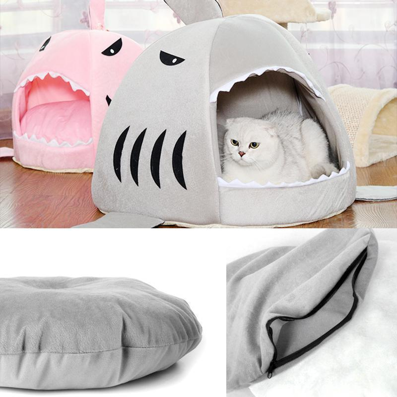 Shark-shaped Pet Bed