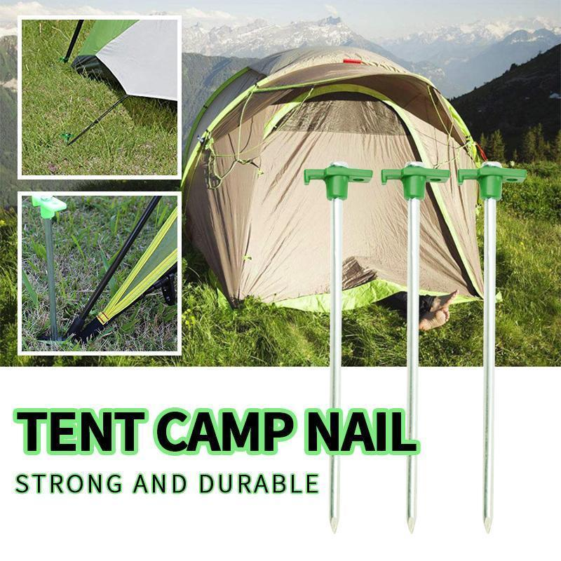 Non-Rust Camping Family Tent Pop Up Canopy Stakes