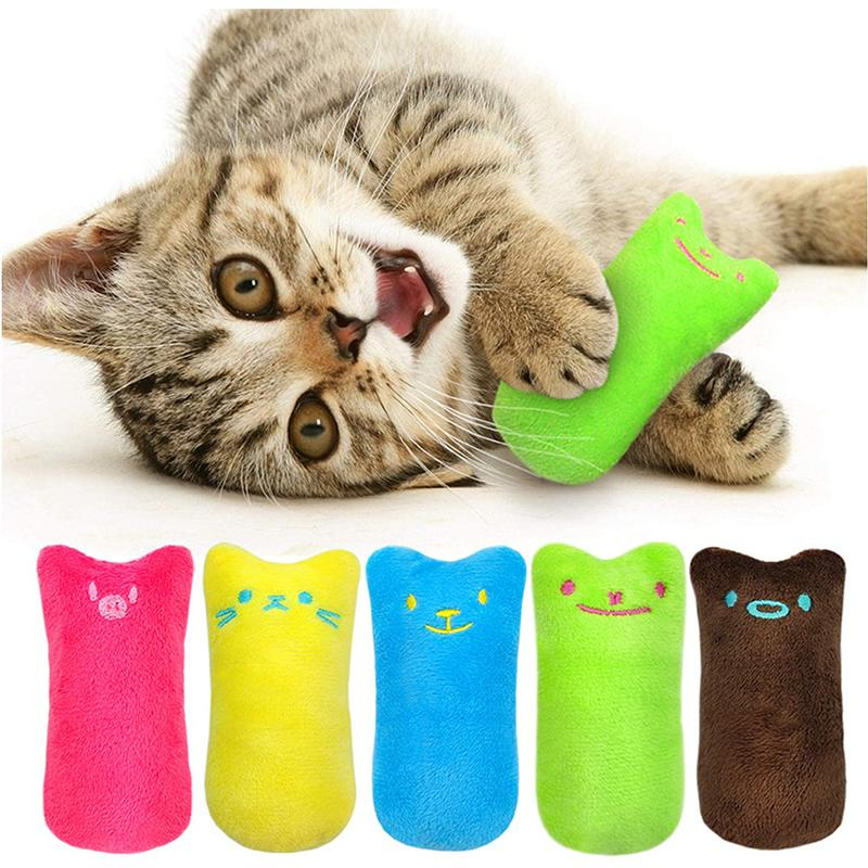 Catnip Plush Toy Cat Chew Toy