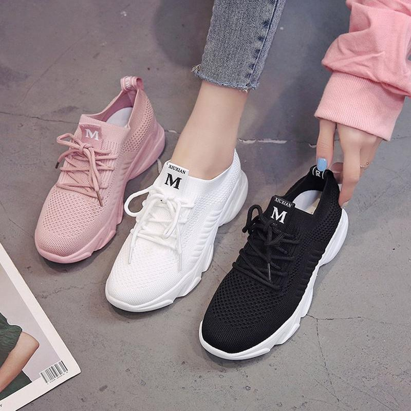 New Breathable Knit Sneakers