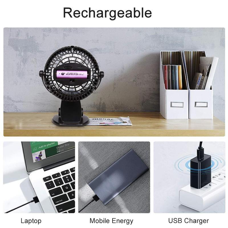 360° Mini Portable Personal Fan