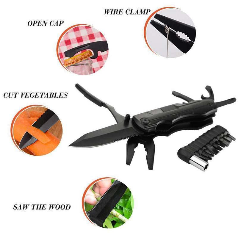 Convenient Multifunctional Folding Knife Screwdriver