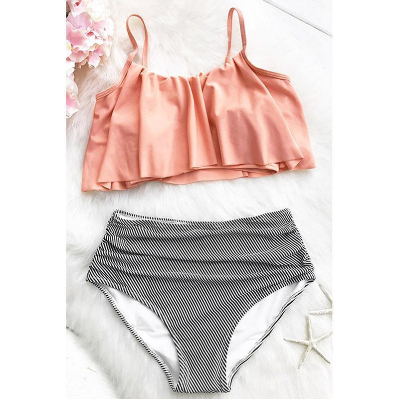 Falbala High-Waisted Bikini Set Swimsuit