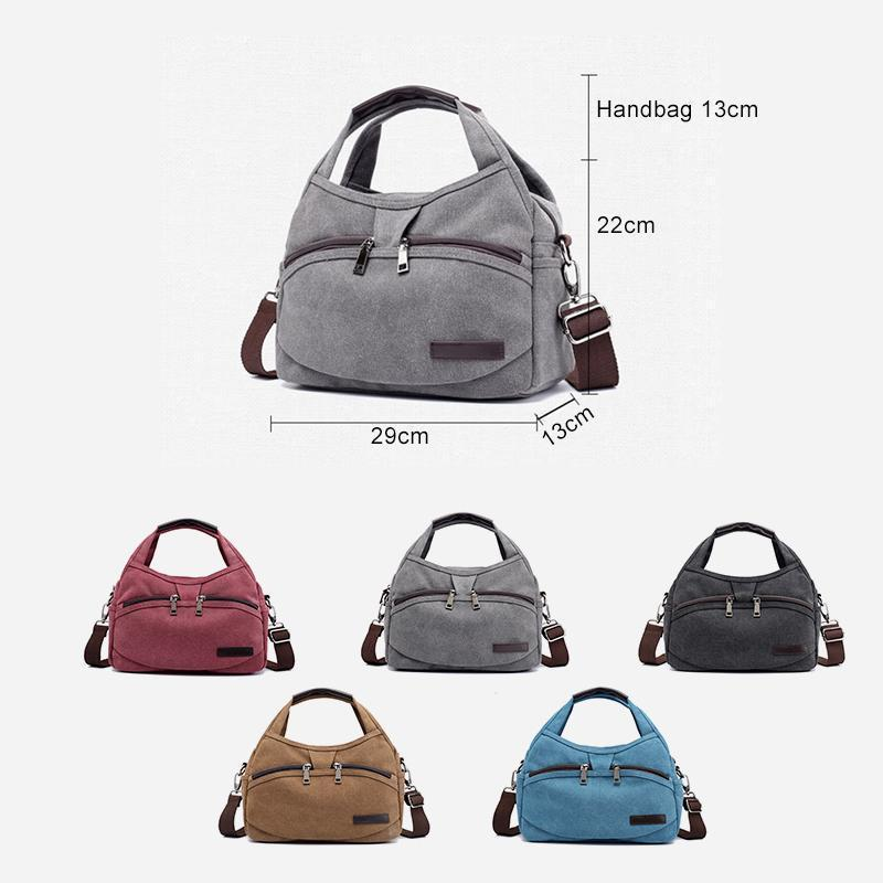 Large Capacity Waterproof Crossbody Shoulder Bag