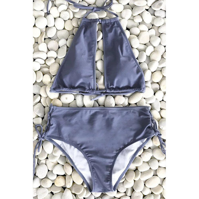 Halter Bikini Set Swimsuit