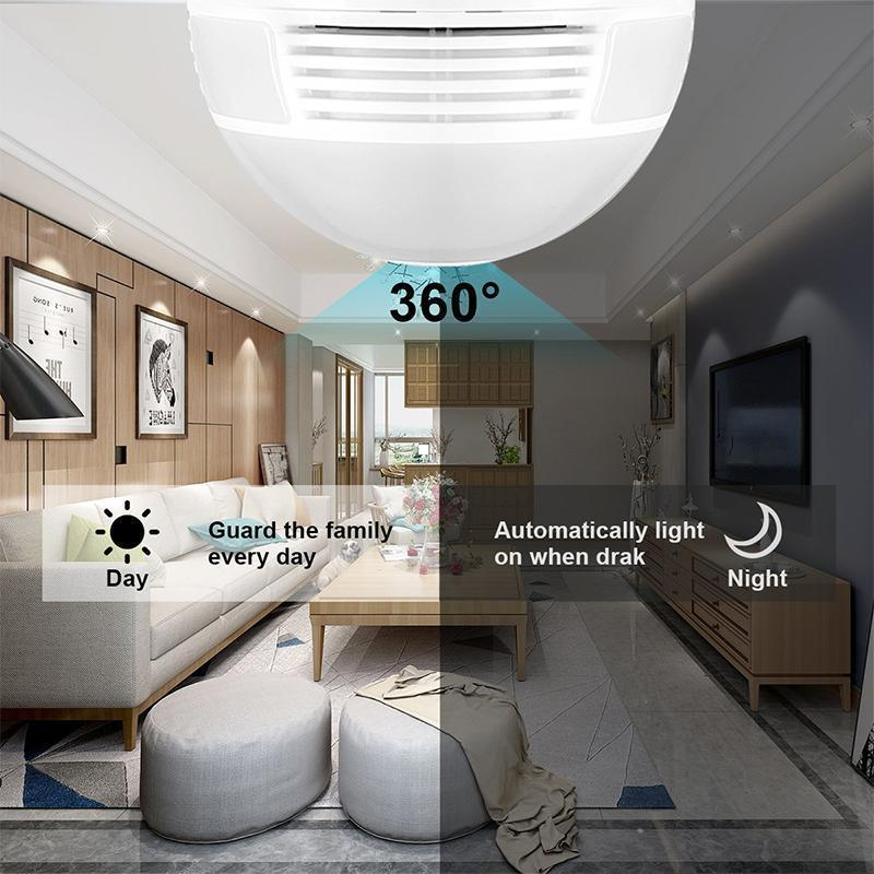 Panoramic Security Light Bulb