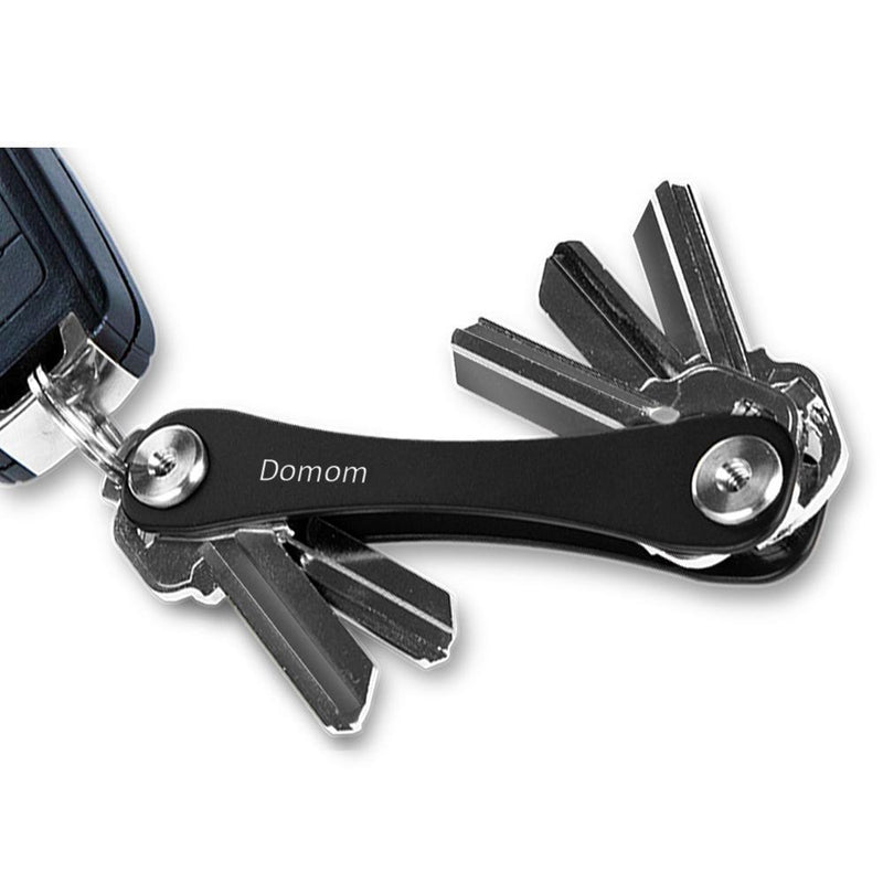 Domom Compact Key Holder and Keychain Organizer,2 Packs