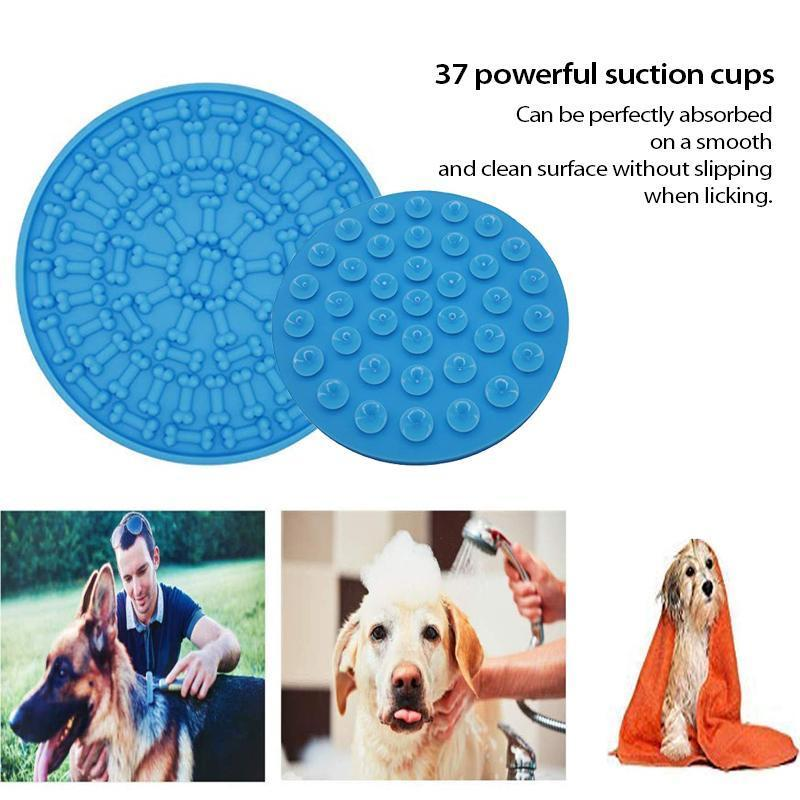 Dog Lick Mat for Bath Grooming