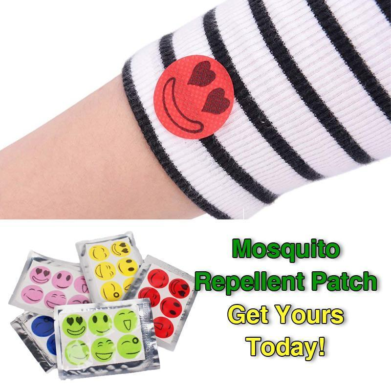 【Last Day Promotion】Natural Mosquito Repellent Patches Stickers