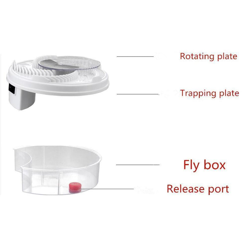 Hirundo Electric Fly Trap Device