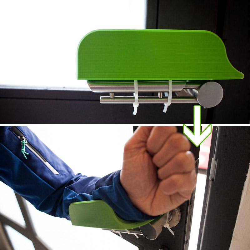 Hand-free Arm Pull Operated Door Opener (2 PCs)
