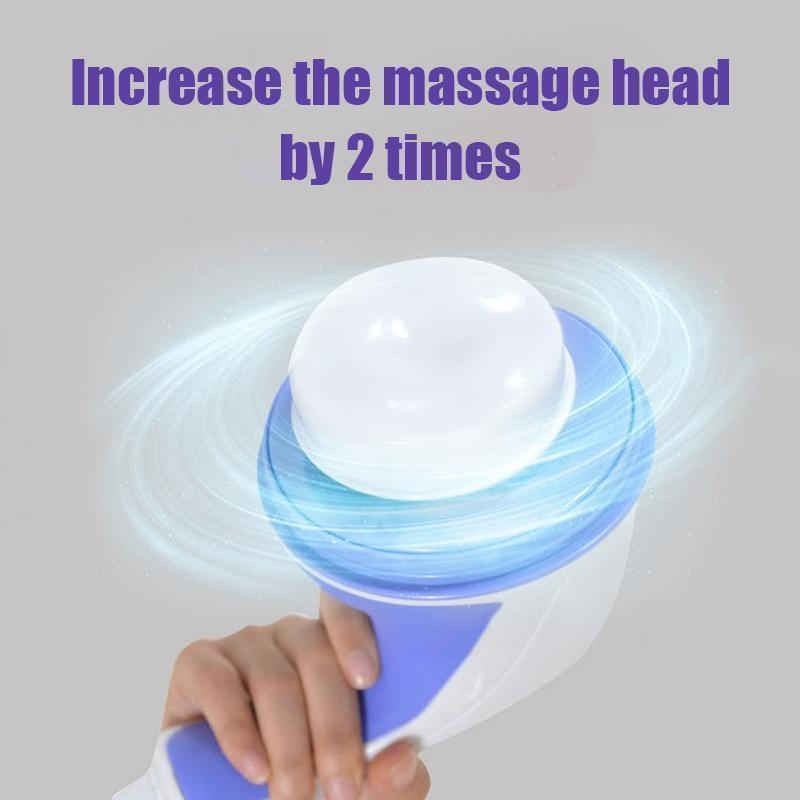 Electric Handheld Body Massager,With 5 Headers