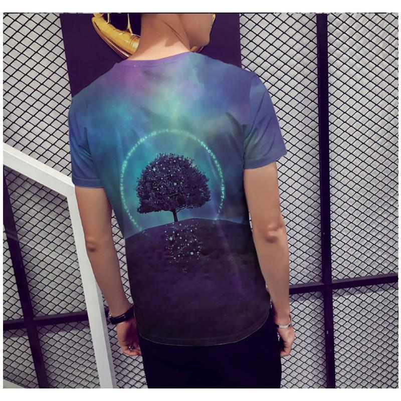 3D Short Sleeve T-shirt