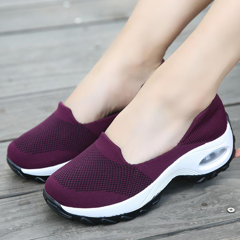 Casual Woven Walking Shoes