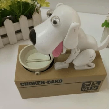 BEST SELLING DOG COIN MONEY BANK