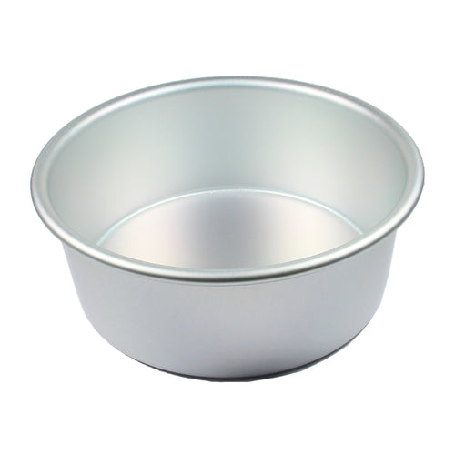FineDecor Premium Aluminium Cake Pan/Mould, Round Shape (6 inch diameter * 3 inch height), FD 3016 - Bakersville Shop