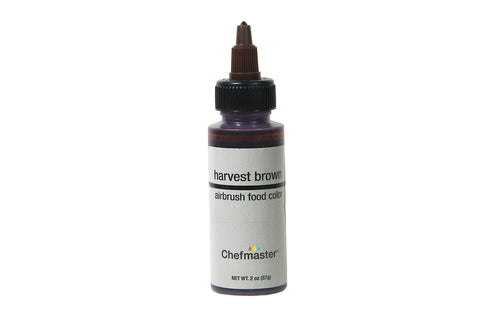 Chefmaster Airbrush Food Colour (Harvest Brown), 57g - Bakersville Shop