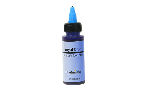 Chefmaster Airbrush Food Colour (Royal Blue), 57g - Bakersville Shop