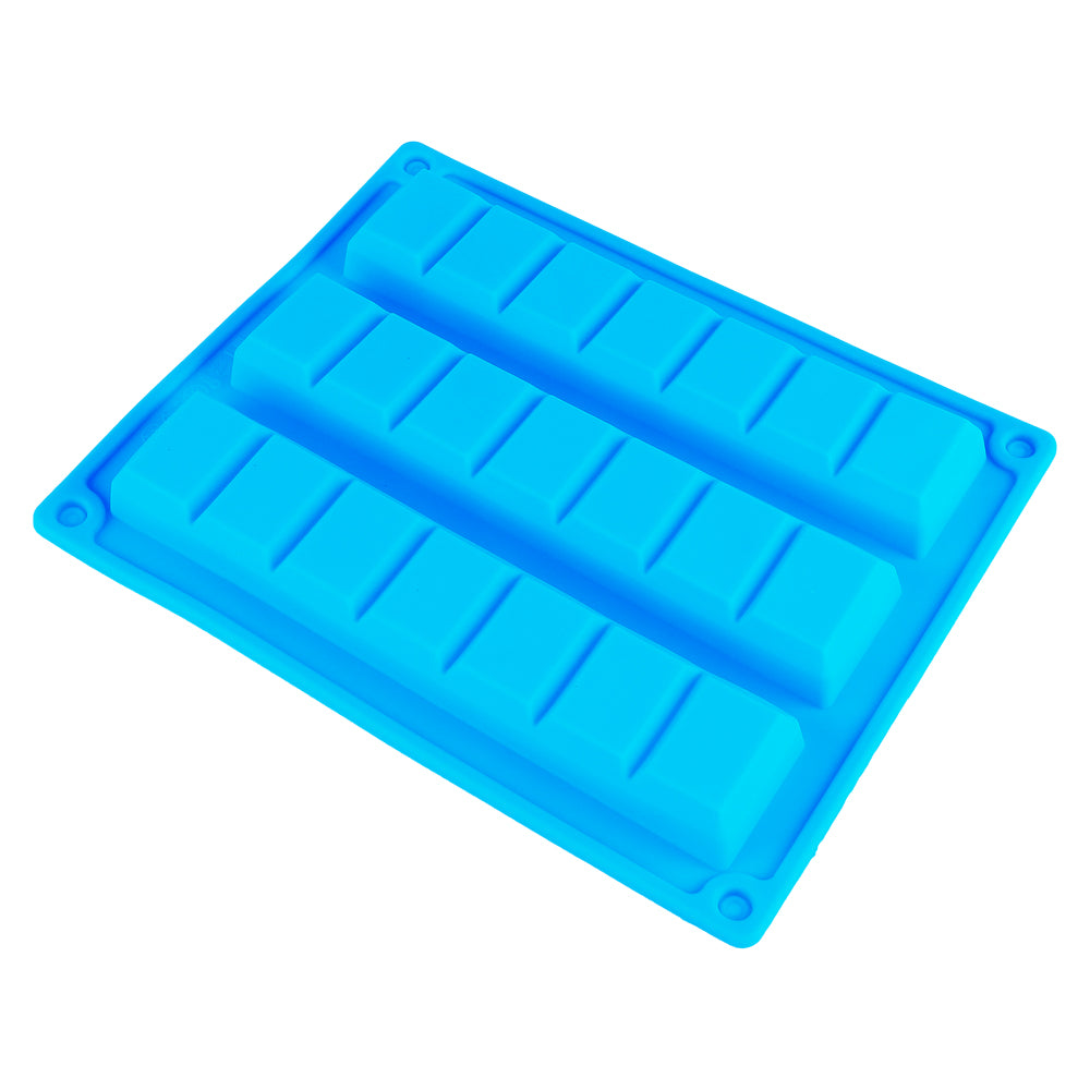 Finedecor Silicone Chocolate Bar Shape Mould / Bakestable Granola Bar Mould, FD 3186