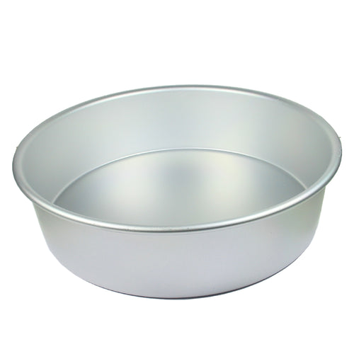 FineDecor Premium Aluminium Cake Pan/Mould, Round Shape (7 inch diameter * 3 inch height), FD 3017 - Bakersville Shop