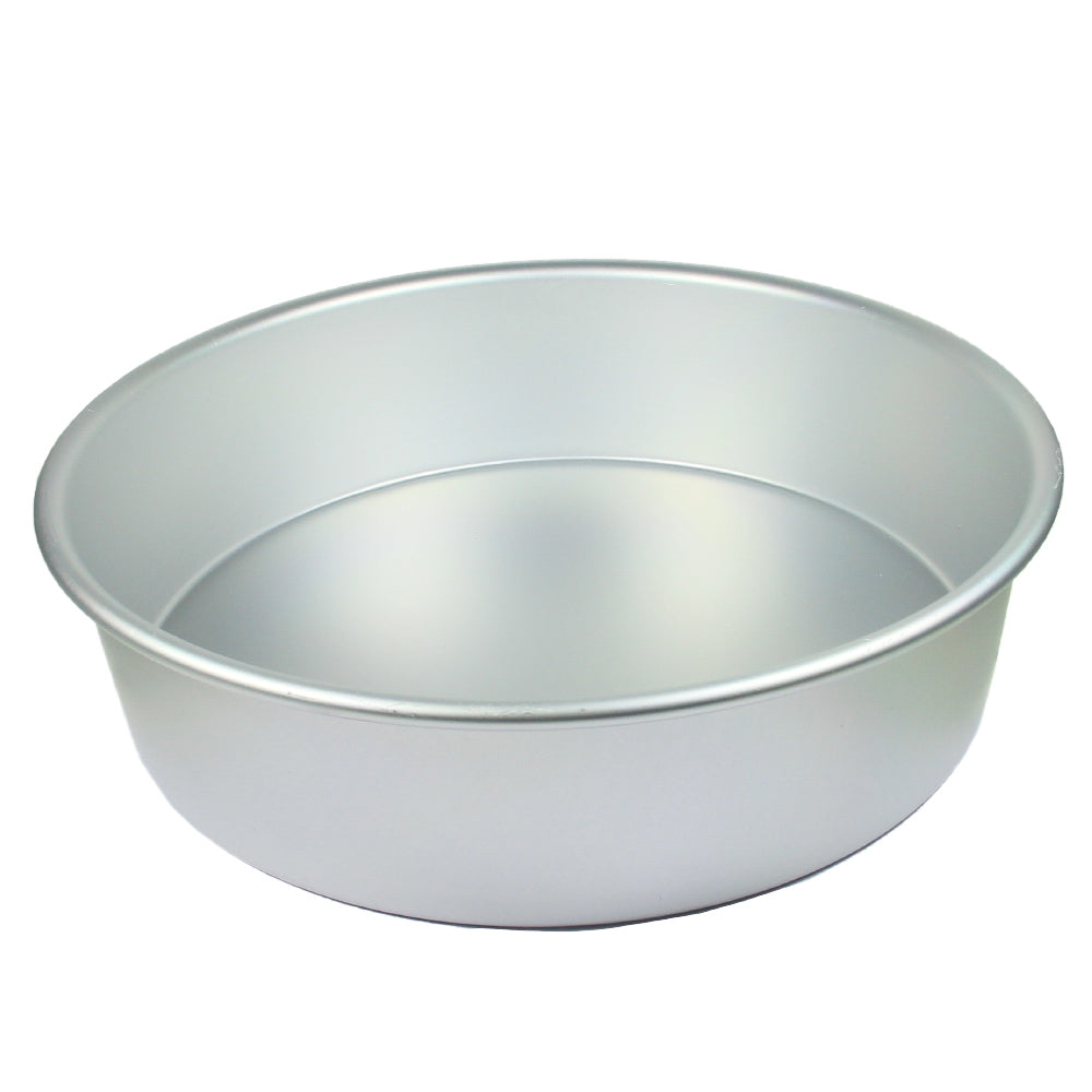 FineDecor Premium Aluminium Cake Pan/Mould, Round Shape (12 inch diameter * 3 inch height), FD 3020 - Bakersville Shop