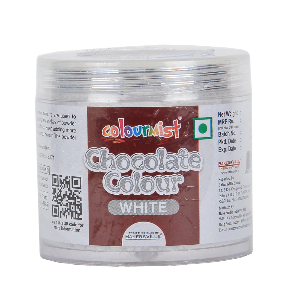 Colourmist Chocolate Colour (White), 25gm