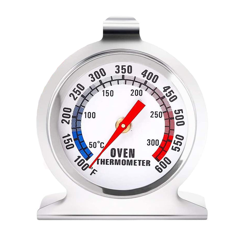 FineDecor Stainless Steel Instant Read Oven / Grill / Smoker Monitoring Thermometer (FD 3125)