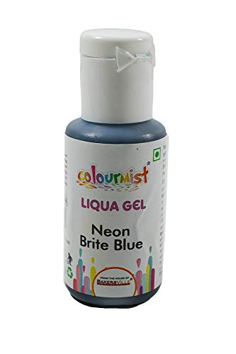 Colourmist Liqua Gel Neon Brite Blue, 15 Gm - Bakersville Shop