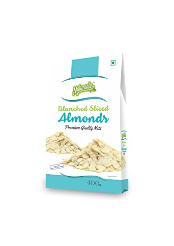 Natureale Blanched Sliced Almonds, 400gm - Bakersville Shop