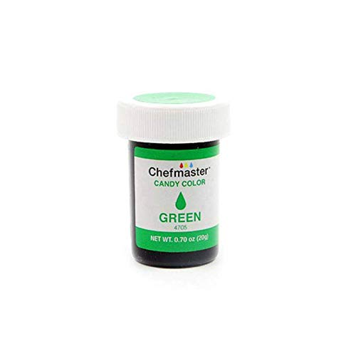 Chefmaster Liquid Candy Color, Green, 20 g