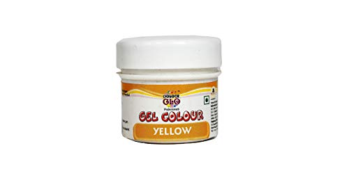 Colourglo Professionals Gel Colour Yellow, 10 Gm - Bakersville Shop