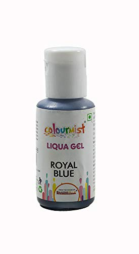 Colourmist Liqua Gel Royal Blue, 15 Gm - Bakersville Shop