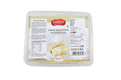Casablanca Sugar Paste Cream, 400 GM - Bakersville Shop