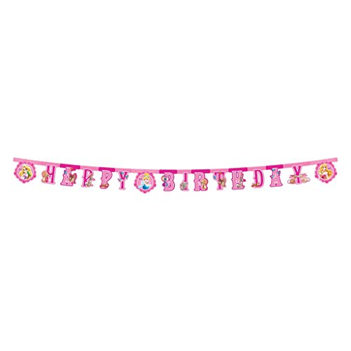 Disney Princess Happy Birthday Die-Cut Banner - BV82652 - 1Pc