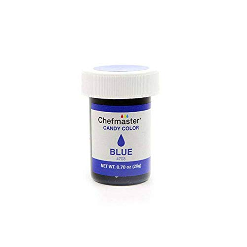Chefmaster Liquid Candy Color, Blue, 20 g