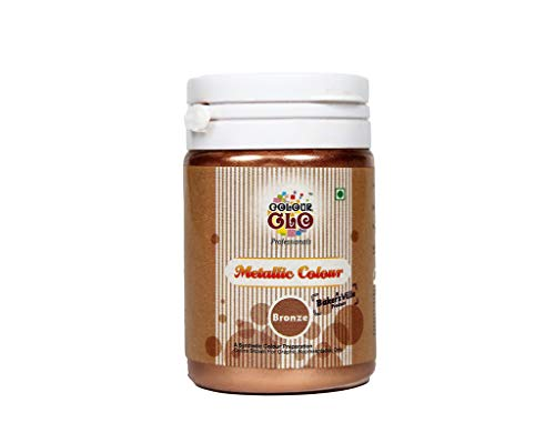 Colourglo Professionals Metallic Powder Colour Bronze, 10 Gm