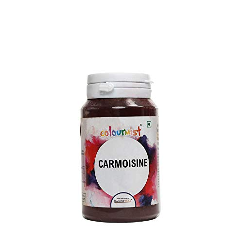 Colourmist Carmoisine Basic Food Colour, 75 Gm - Bakersville Shop