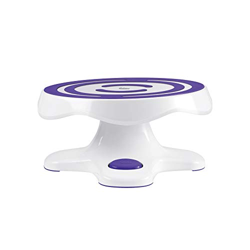 "Wilton Tilt-N-Turn Ultra Cake Turntable, (7"" X Ø12"") - Bakersville Shop"