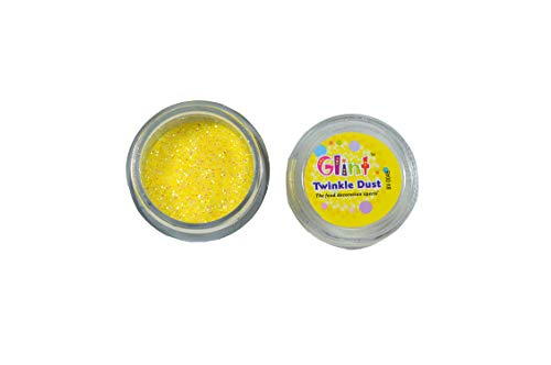 Glint Twinkle Dust, 5 Gm (Yellow) - Bakersville Shop