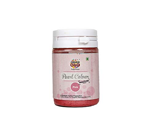 Colourglo Pink Professionals Pearl Powder Colour , 10 Gm