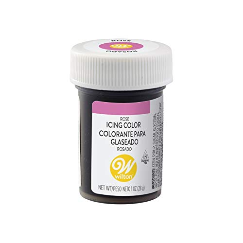 Wilton Gel Food Coloring Icing, Pink, 28.3 g - Bakersville Shop